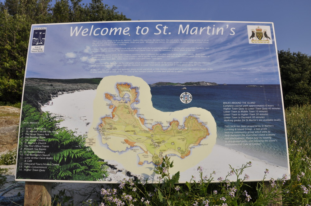 st martins map